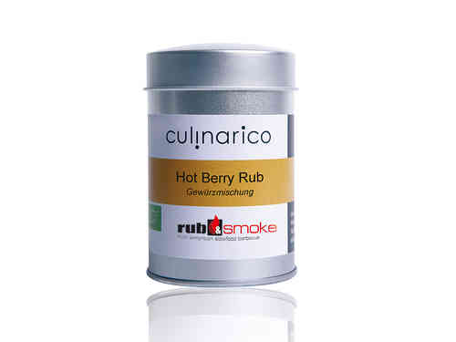 Hot Berry Rub, bio